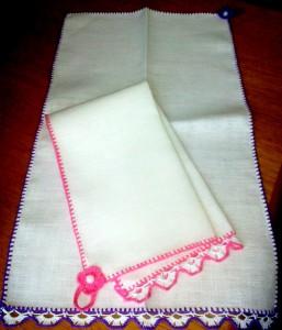 полотенце - ручная работа