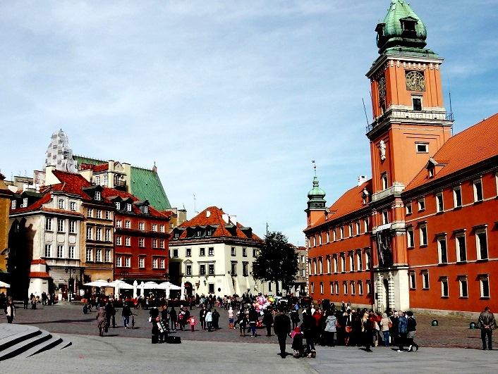 Варшава. Стара място.
